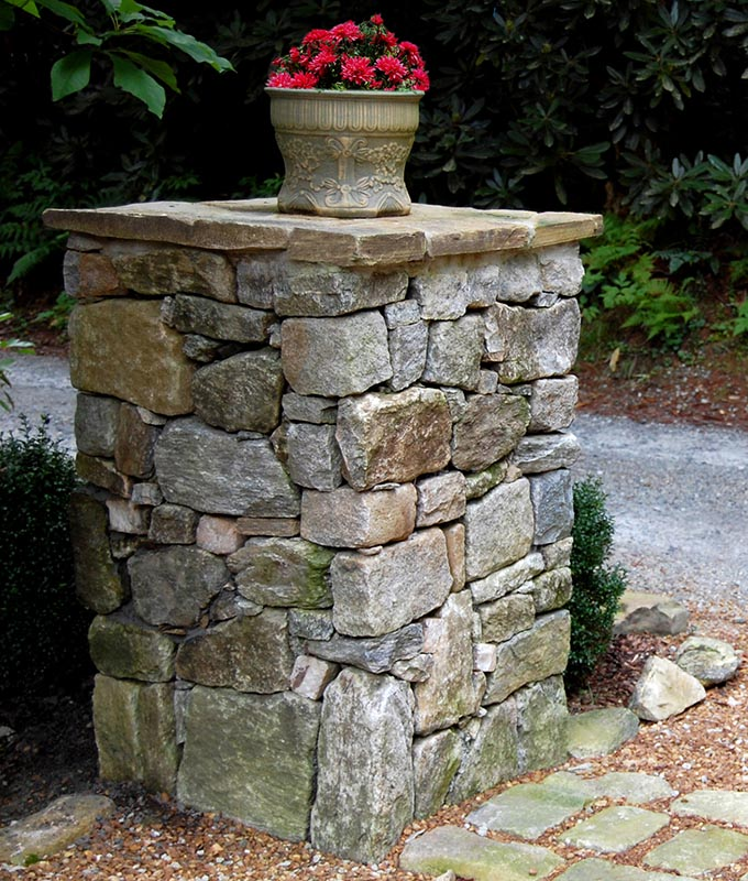 Custom Stone Mailbox Amp Column With Gallery Pictures 995