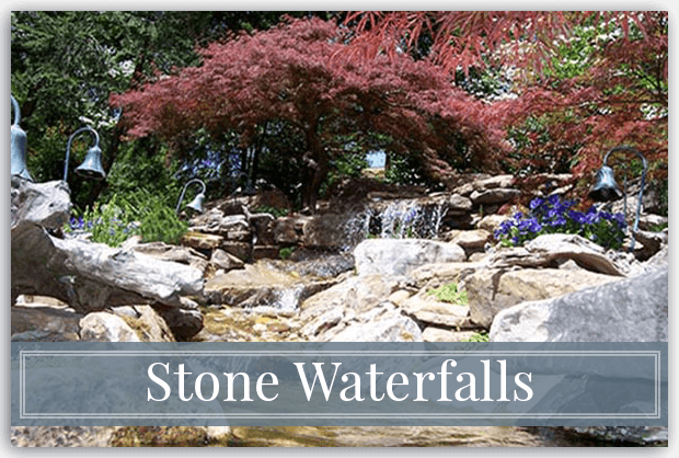 Stone Waterfalls & Hardscapes - Georgia Stone Mason